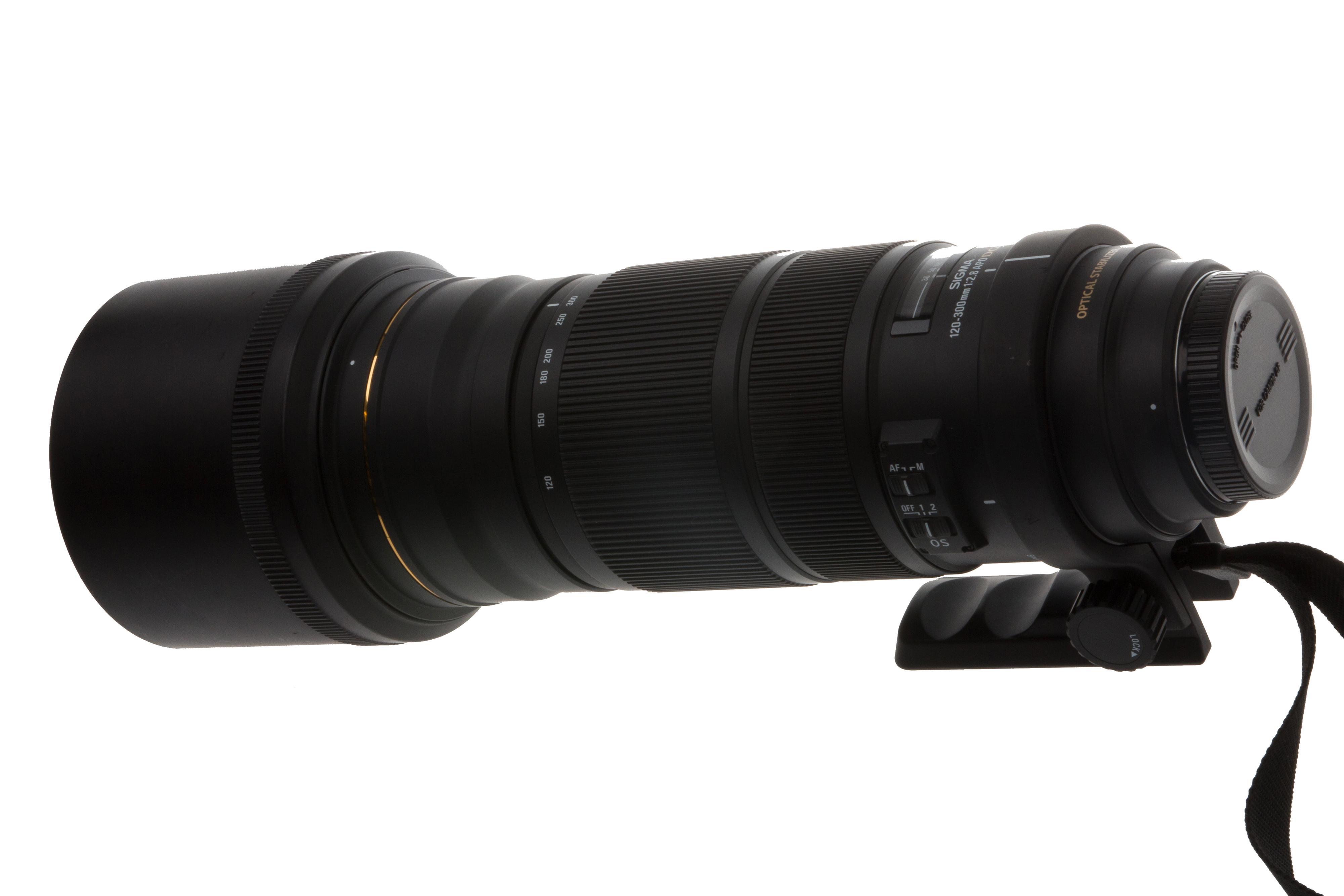 Sigma 120-300mm f/2.8.Foto: Eivind Hauger, Akam.no