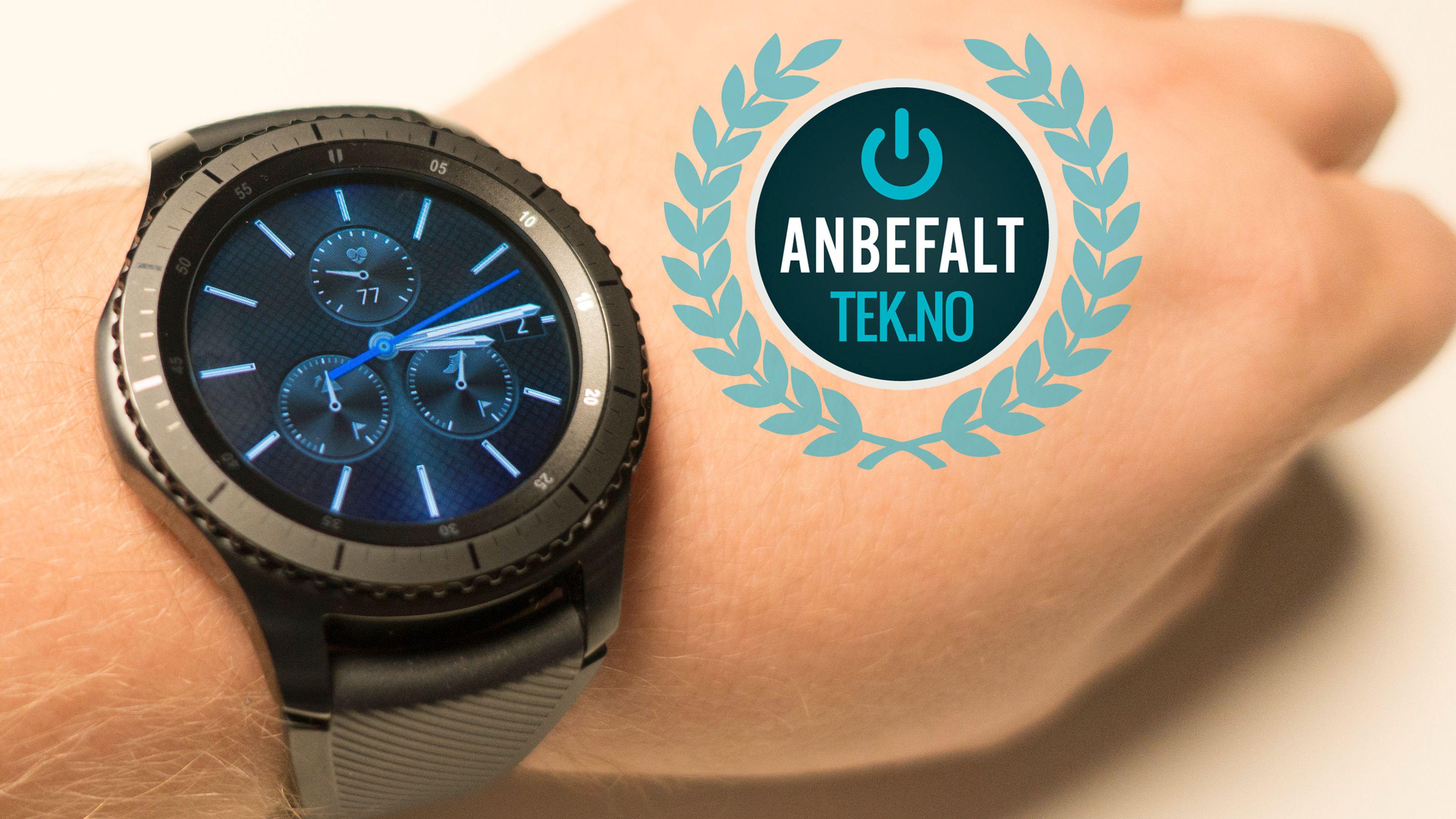 Samsung Gear S3 er en smart-klokke vi trygt kan anbefale deg.