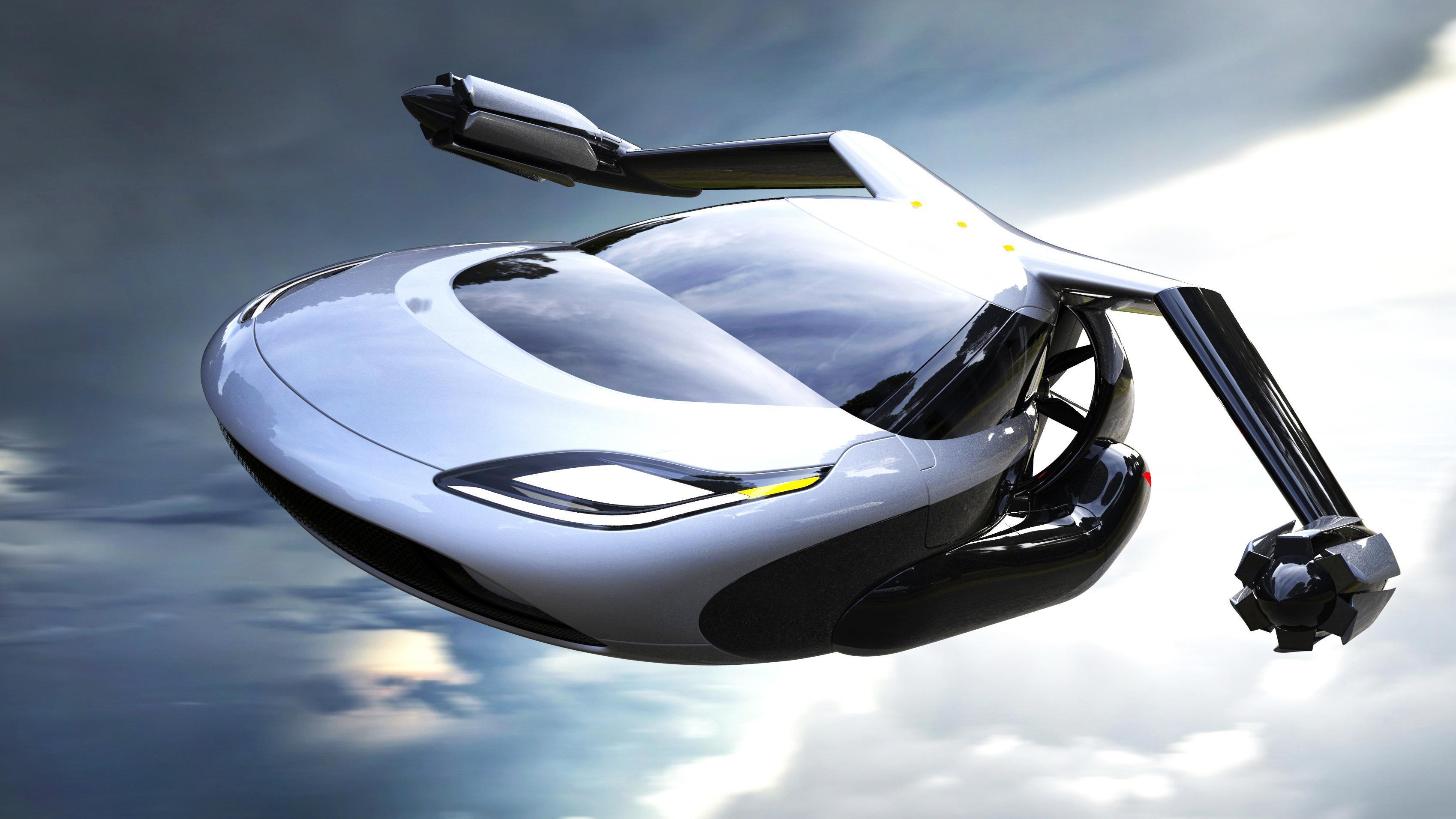 Vi har sett flere prototyper på flyvende biler tidligere, for eksempel denne modellen fra det amerikanske selskapet Terrafugia.