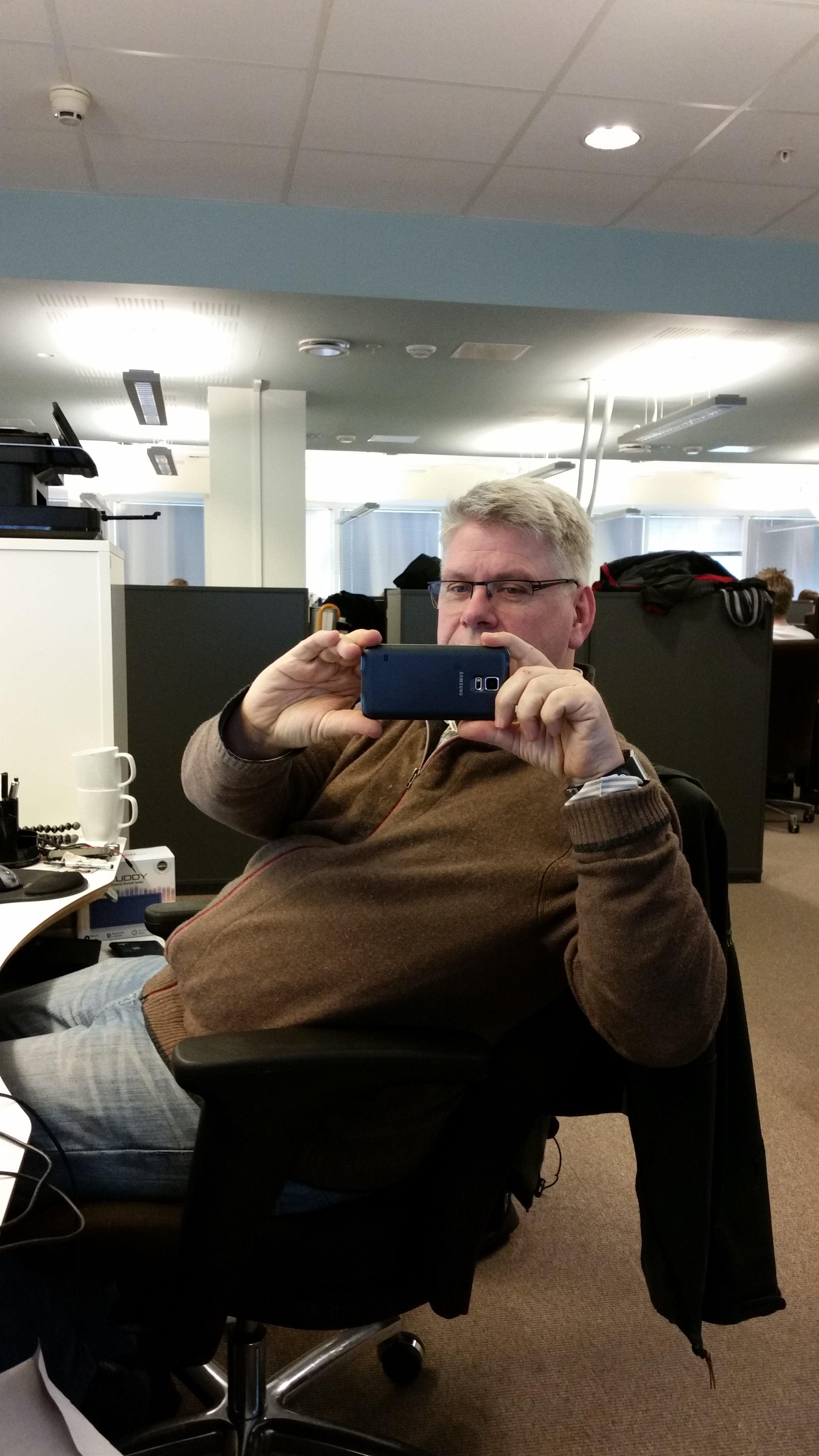 Testbilde Galaxy S5: Innendørs, god belysning