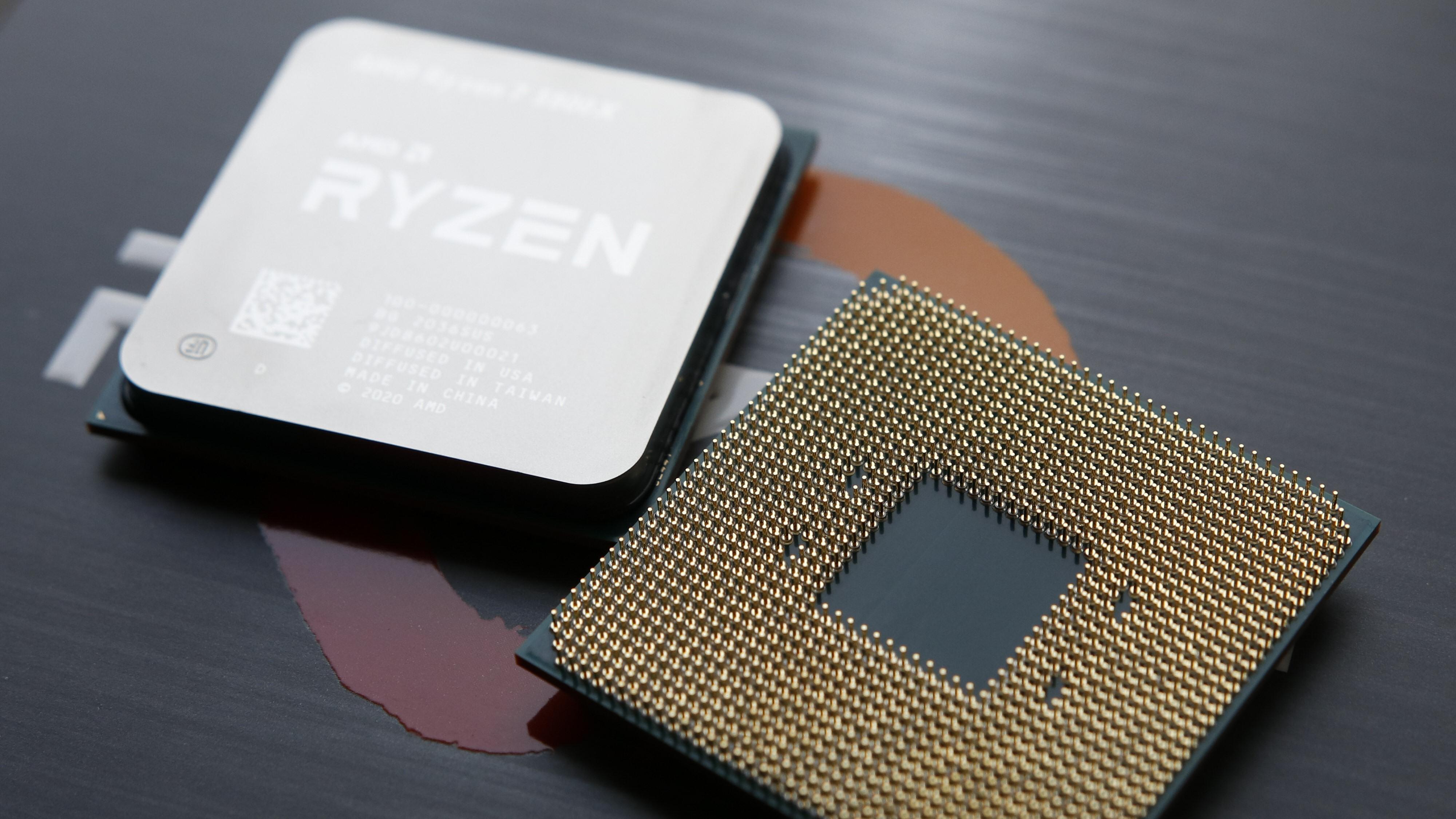 En AMD Ryzen-prosessor.