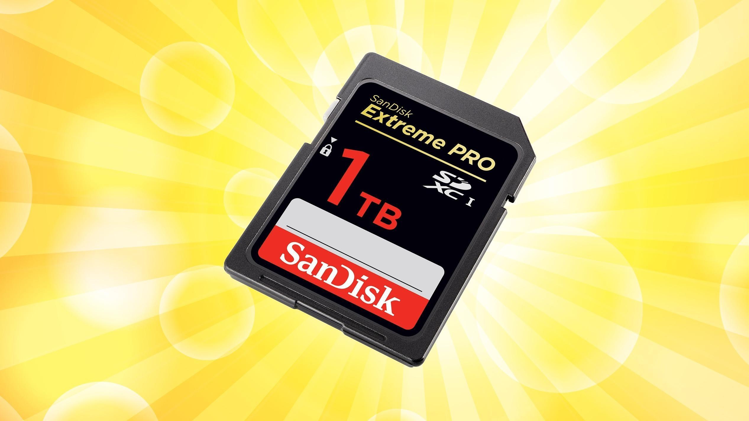 Nå har SanDisk avduket et minnekort på én terabyte