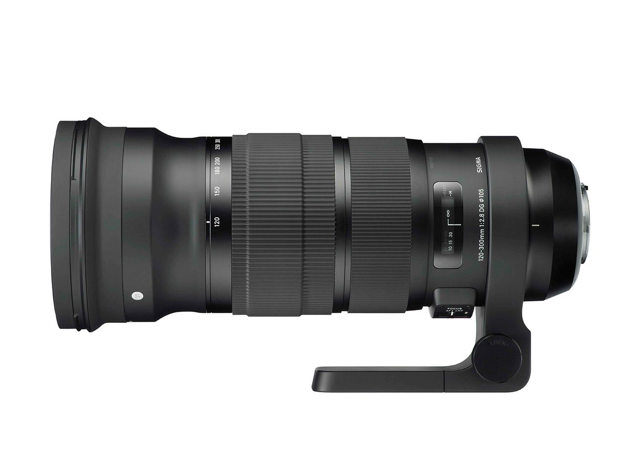 Sigma 120-300mm f/2.8 DG OS HSM.Foto: Sigma