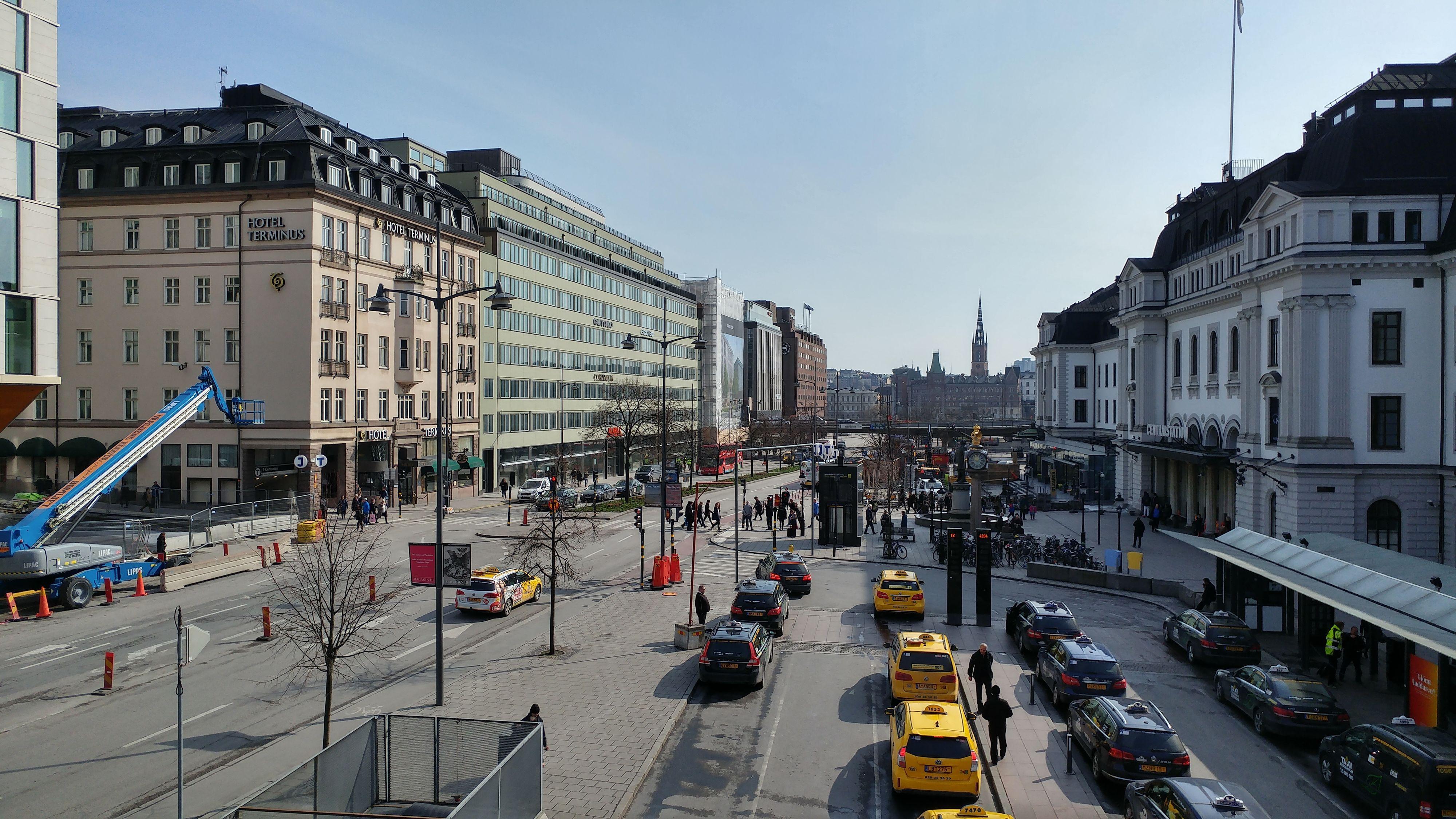 Først et bilde av Stockholm med det vanlige G5-kameraet.