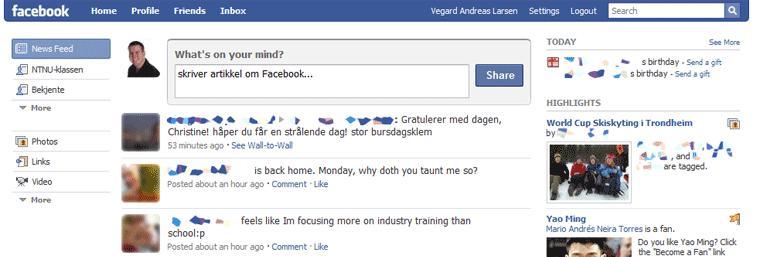 Facebook-navn får åpningsrush