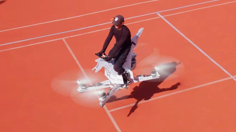En «svevesykkel» som faktisk fungerer