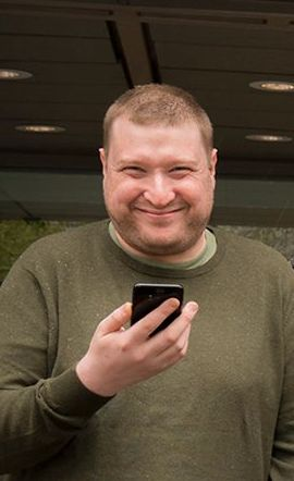 Tek.nos mobiltester Finn Jarle Kvalheim.