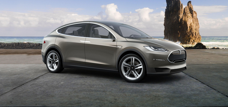 Model X skal være krydret med en rekke nye funksjoner. Foto: Tesla