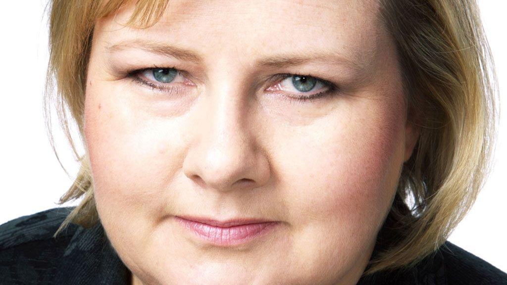 - Jeg vil også oppfordre Erna Solberg til å skru av telefonen, sier Pollestad. Foto: CF Wesenberg, kolonihavnen.no