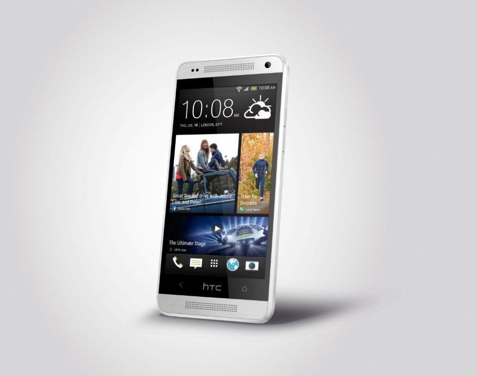 HTC One Mini har litt mer til felles med sitt opphav enn Galaxy S4 Mini, men også her er det gjort kompromisser.Foto: HTC
