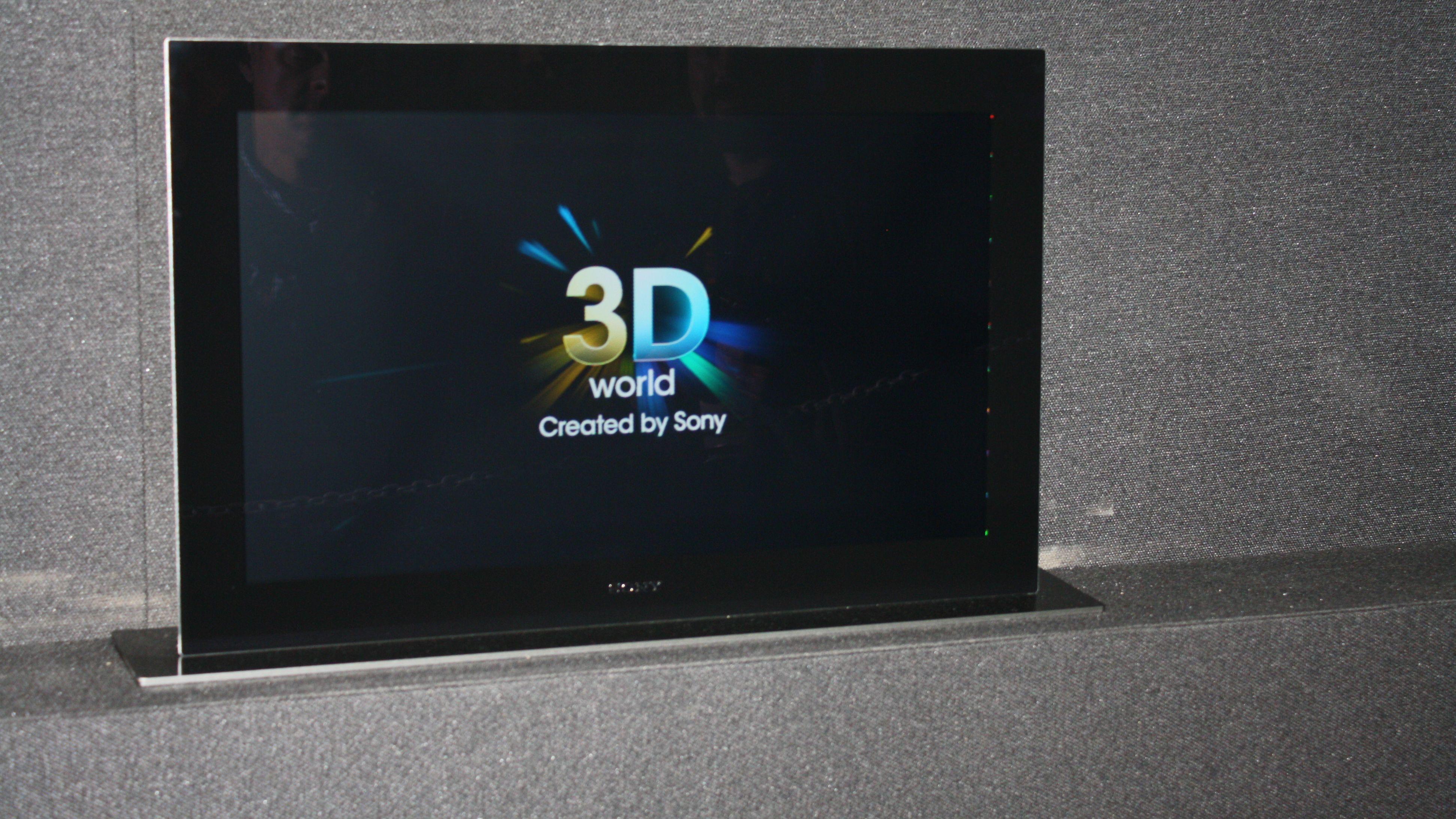 Brillefri 3D-OLED fra Sony