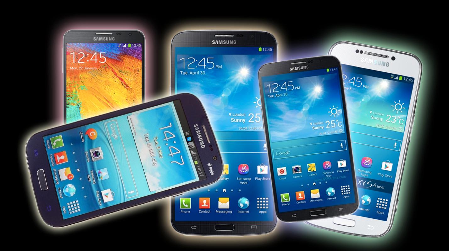 Disse fem Samsung-mobilene får Android 4.4