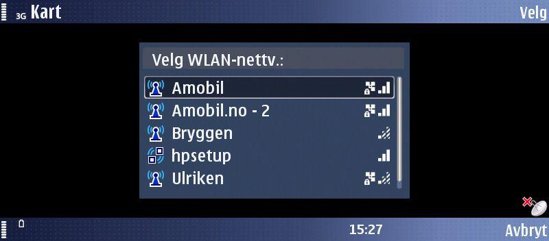 Enkelt å koble seg til Wi-Fi-nett.
