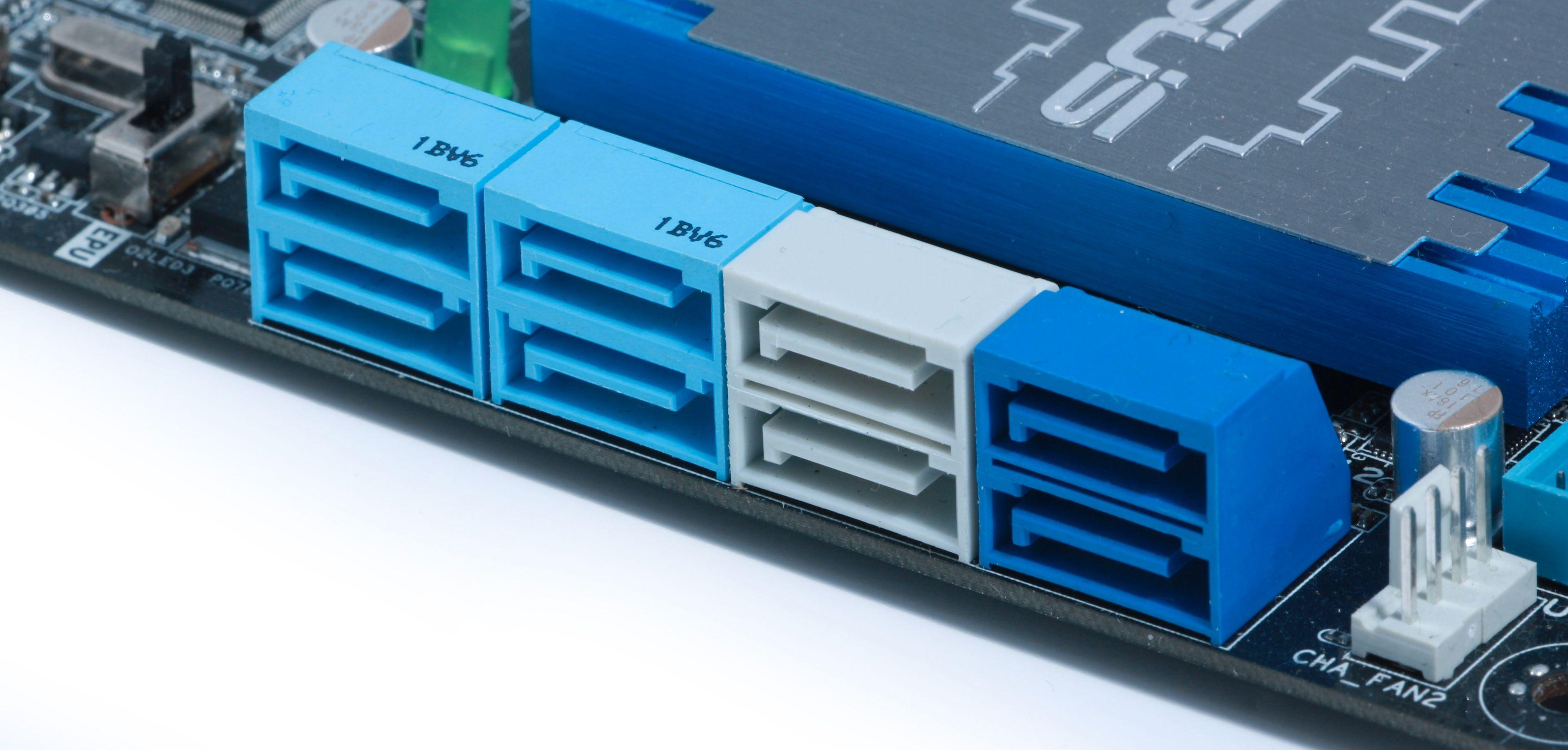 Det er ikke sikkert at alle SATA 6 Gbit/s-kontaktene på hovedkortet har like god ytelse.