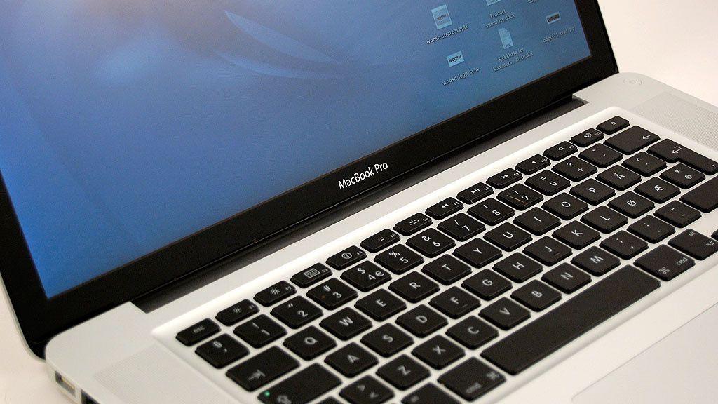 Test av Apple Macbook Pro