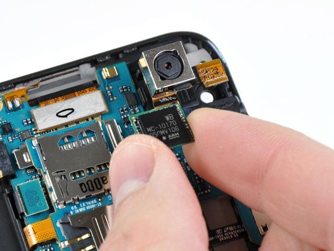Systembrikken i dagens Galaxy S II.
