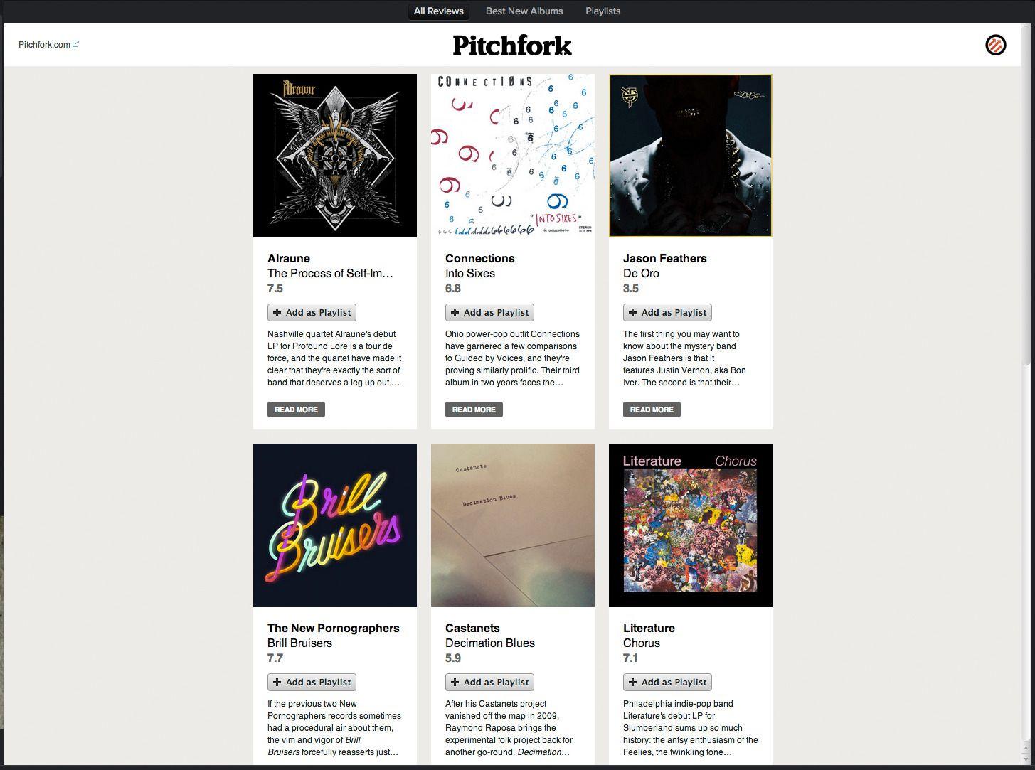 Pitchfork.