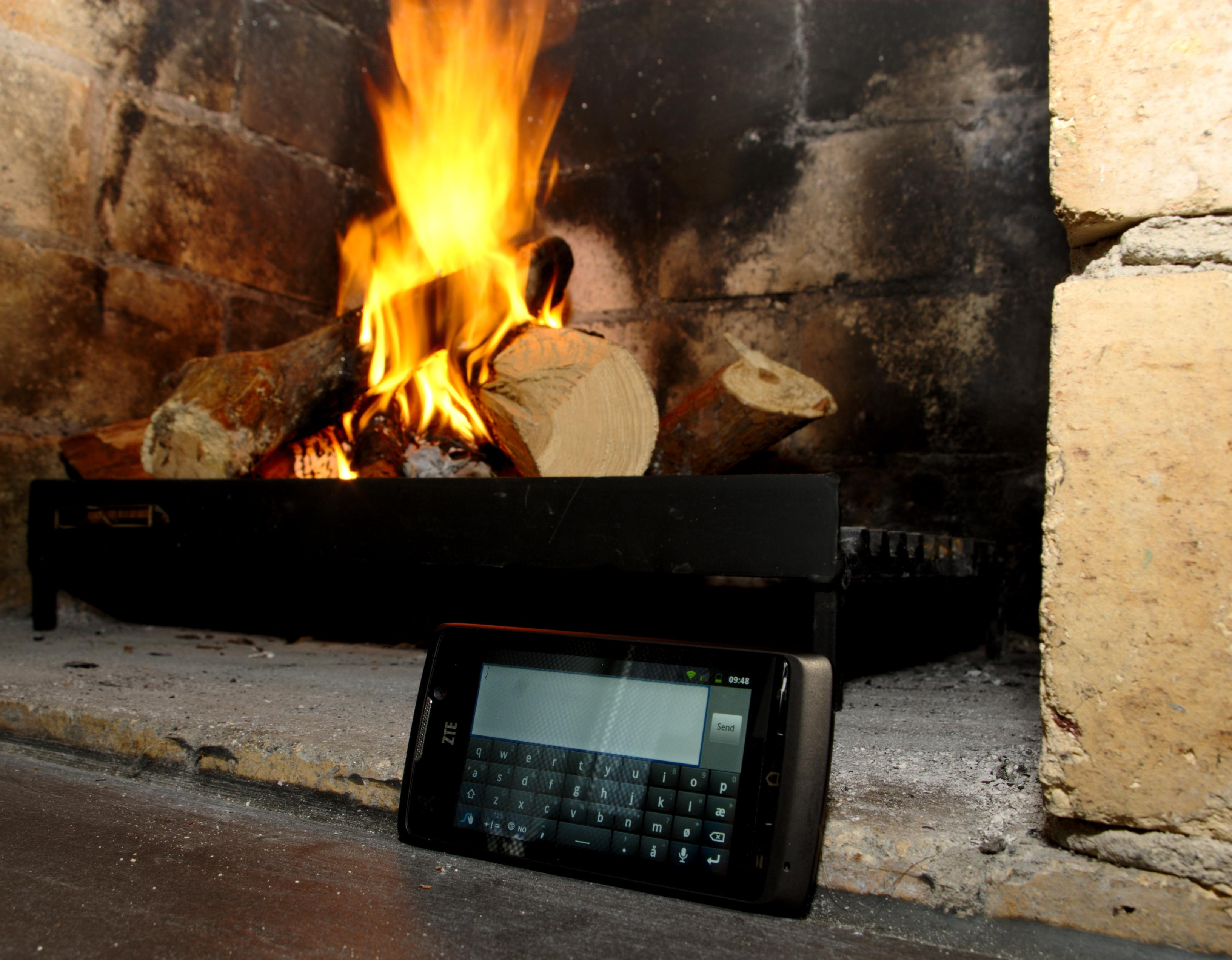 ZTE holder tritt med teknologien.Foto: Einar Eriksen