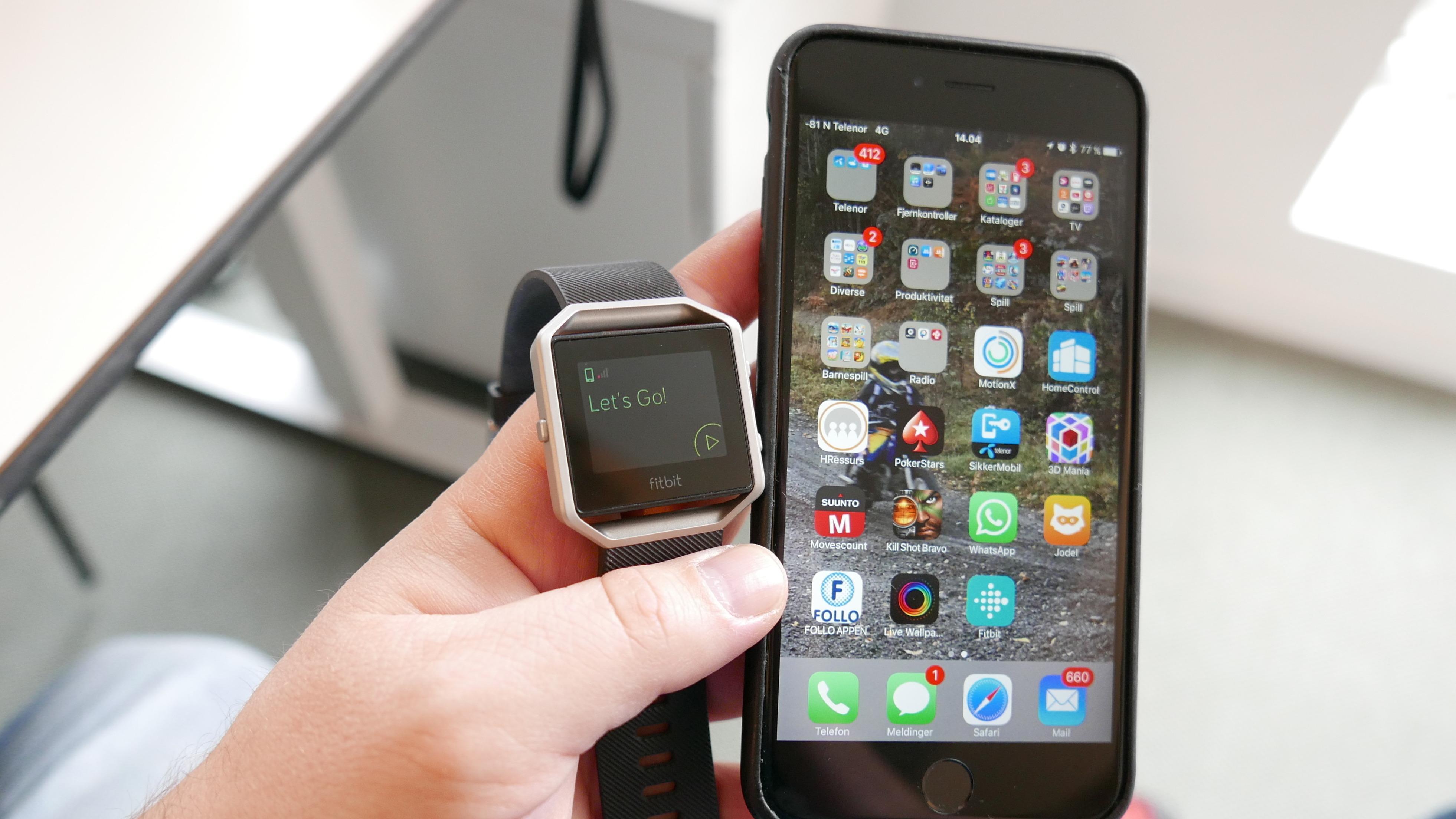 Skal du ut og løpe, blir det aller mest nøyaktig med GPS – og da må du ha med deg mobilen i tillegg.
