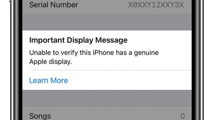 Apple varsler om «uekte skjerm», uansett om skjermen er ekte eller ei