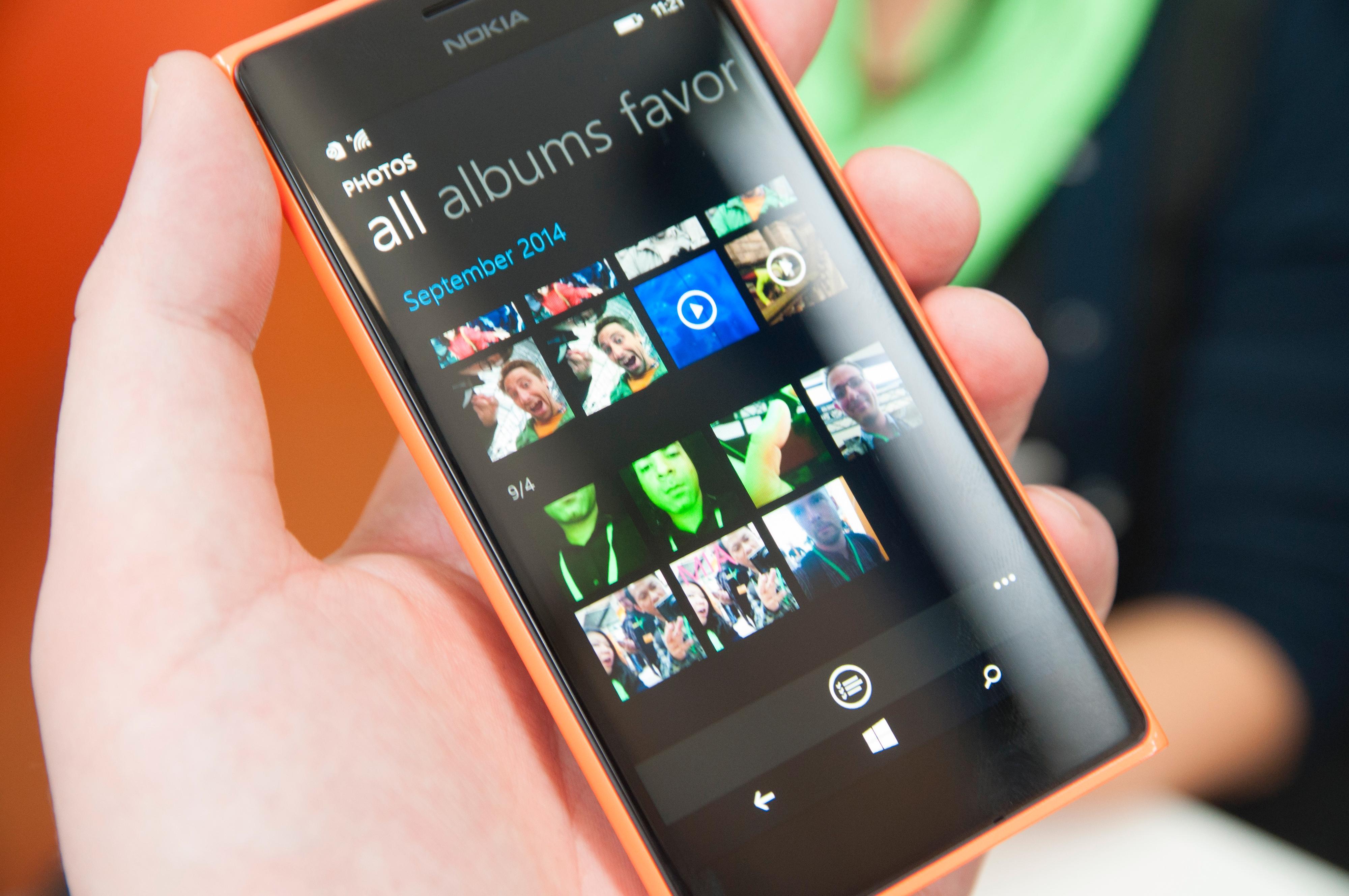 Telefonens selfie-egenskaper skapte en del interesse på lanseringen.