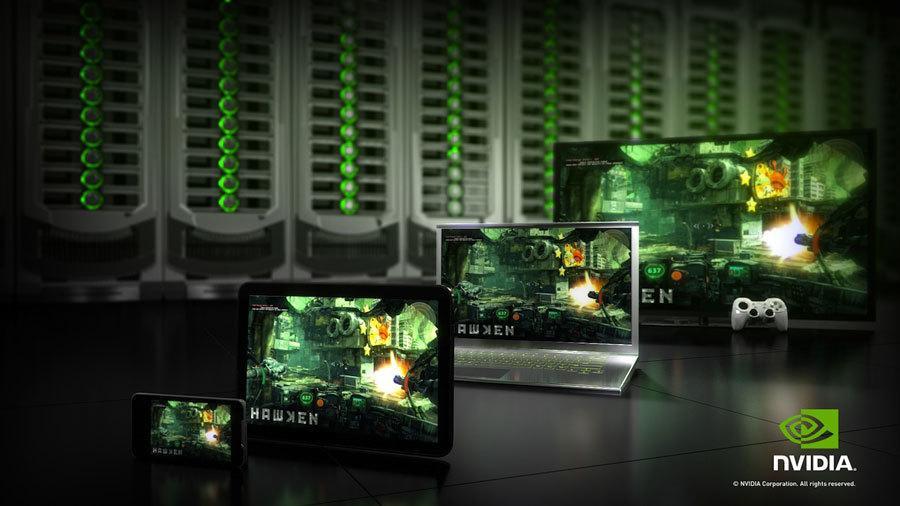 Googles nye strømmetjeneste kan fungere som Nvidias GeForce Now, hvor du leier datakraft til spillene dine i skyen og strømmer dem til enhetene dine. Bilde: Nvidia