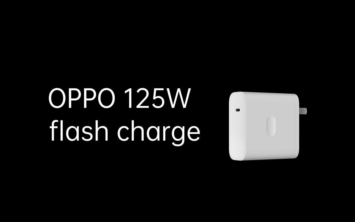 Oppo lanserer 125 watts-lading av mobiler. Det skal kunne gi over 40 prosent på fem minutter.