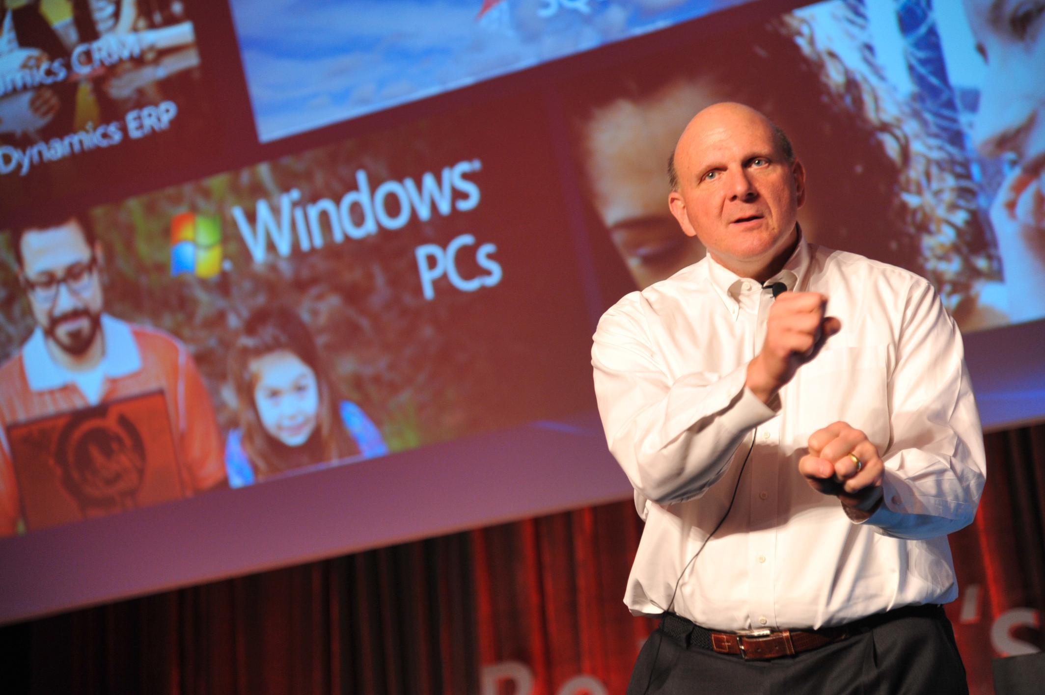 Steve Ballmer.Foto: Microsoft