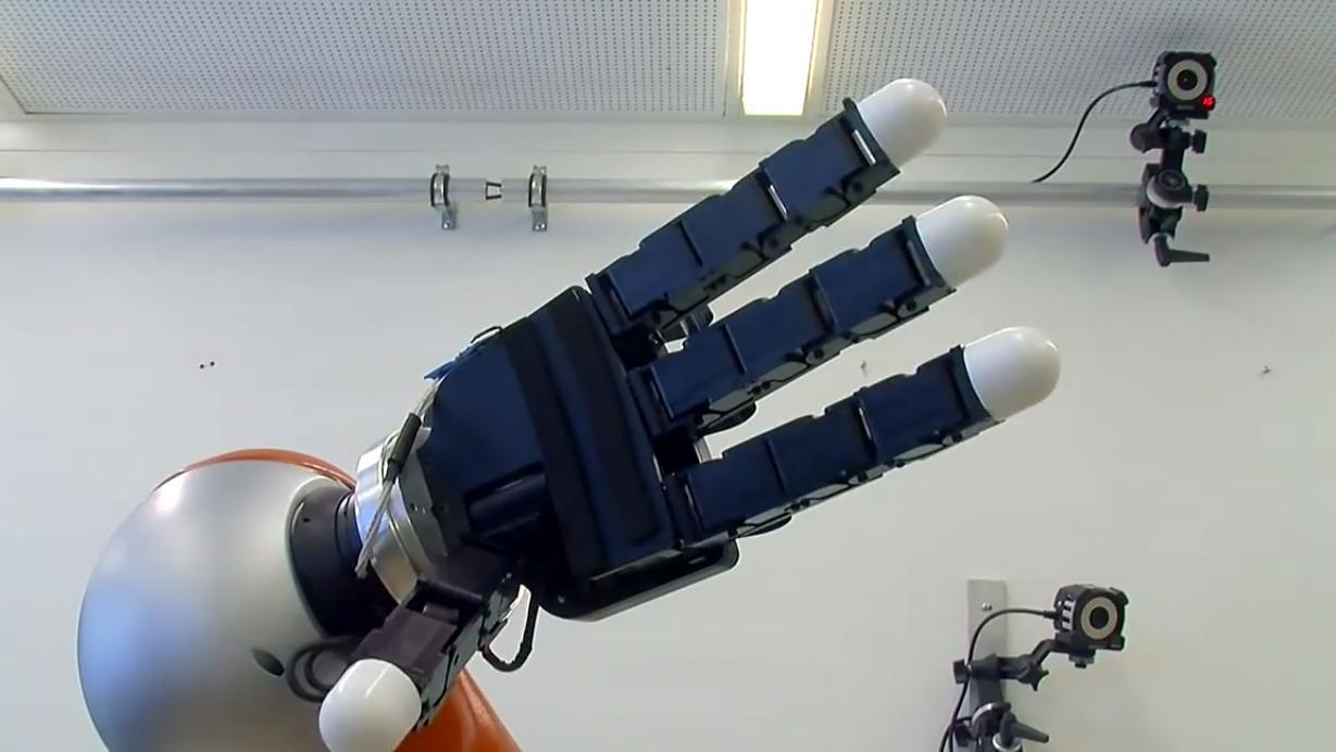 Slik ser robothånden ut.Foto: YouTube