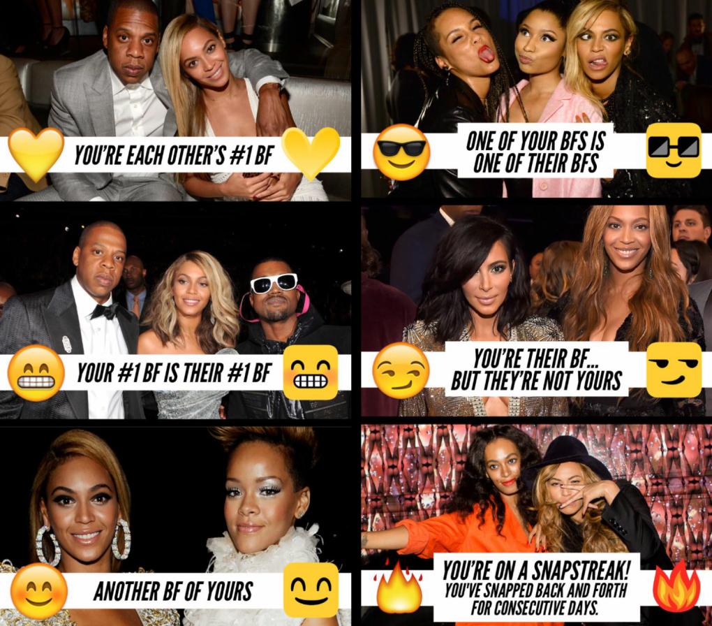 Dette betyr de nye ikonene. Foto: skjermbilder/Snapchat