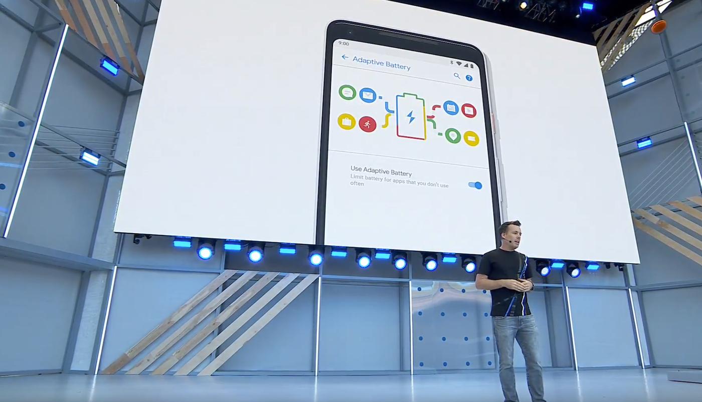 Her fra Googles I/O-konferanse i 2018.