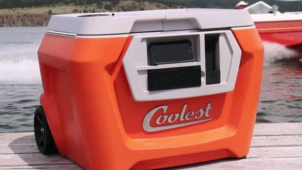 Coolest Cooler er det mest innbringende Kickstarter-prosjektet noensinne.Foto: Kickstarter