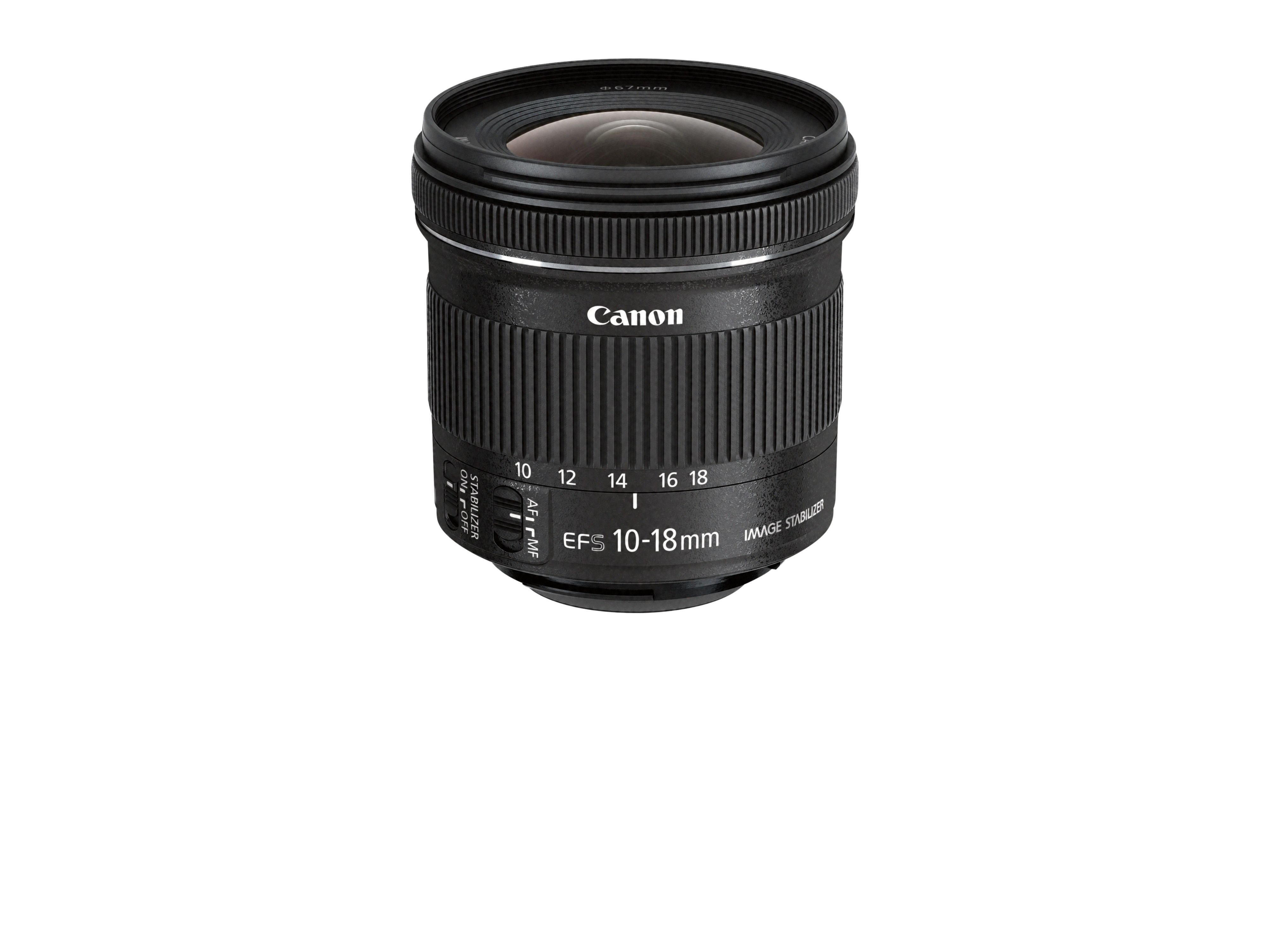 EF-S 10-18mm f4.5-5.6 IS STM.Foto: Canon