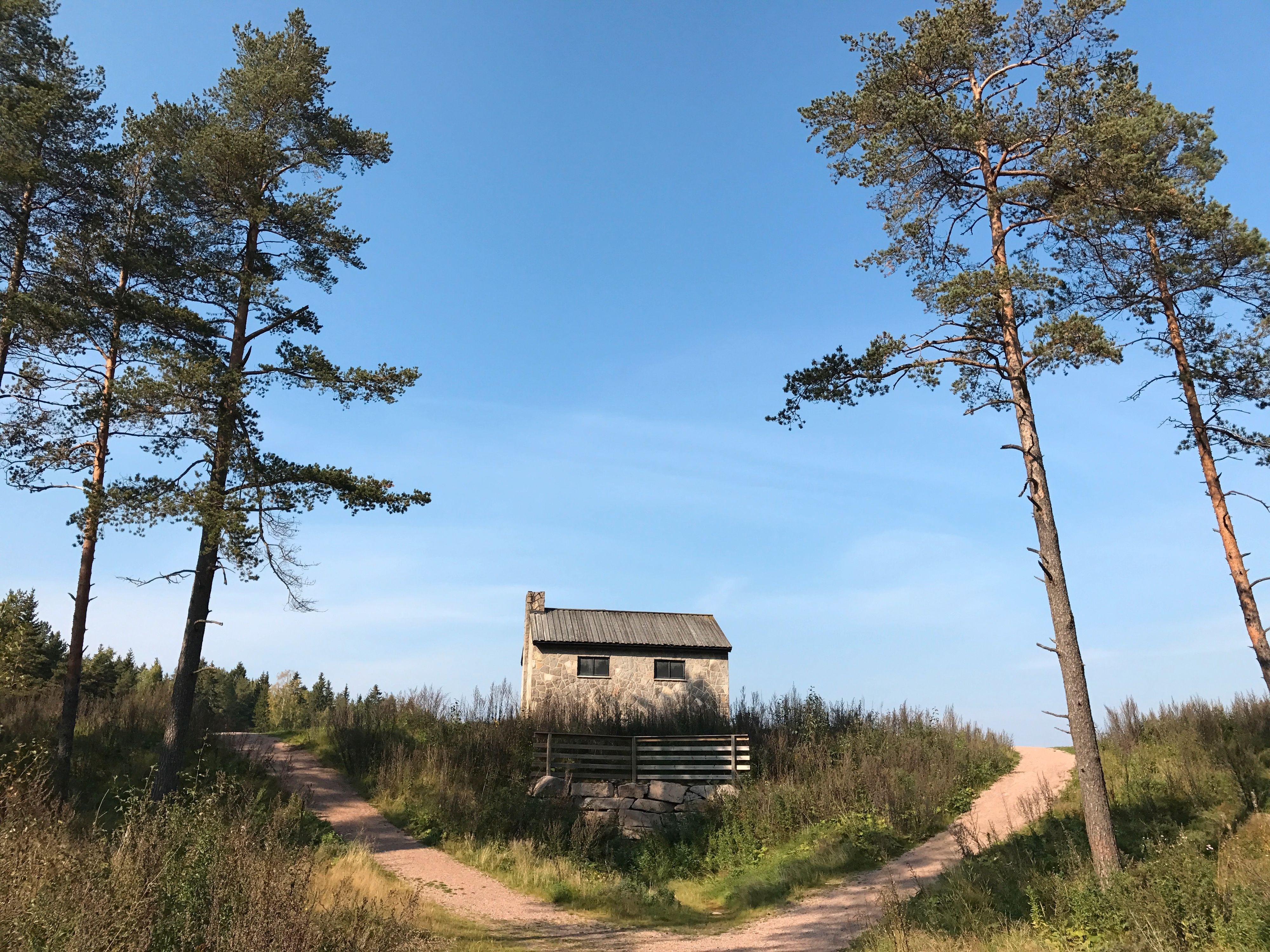 Det lille huset på prærien - også kjent som Steinbruvann. 1x zoom. Bilde: Finn Jarle Kvalheim, Tek.no