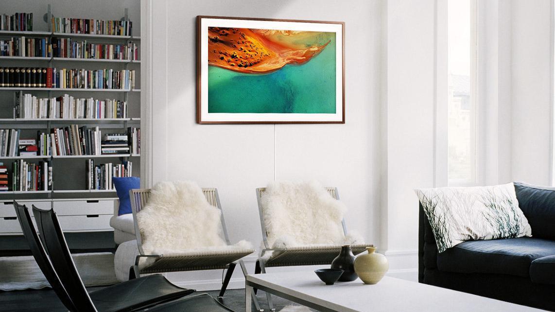 Samsungs nye TV ser ut som et bilde som henger på veggen