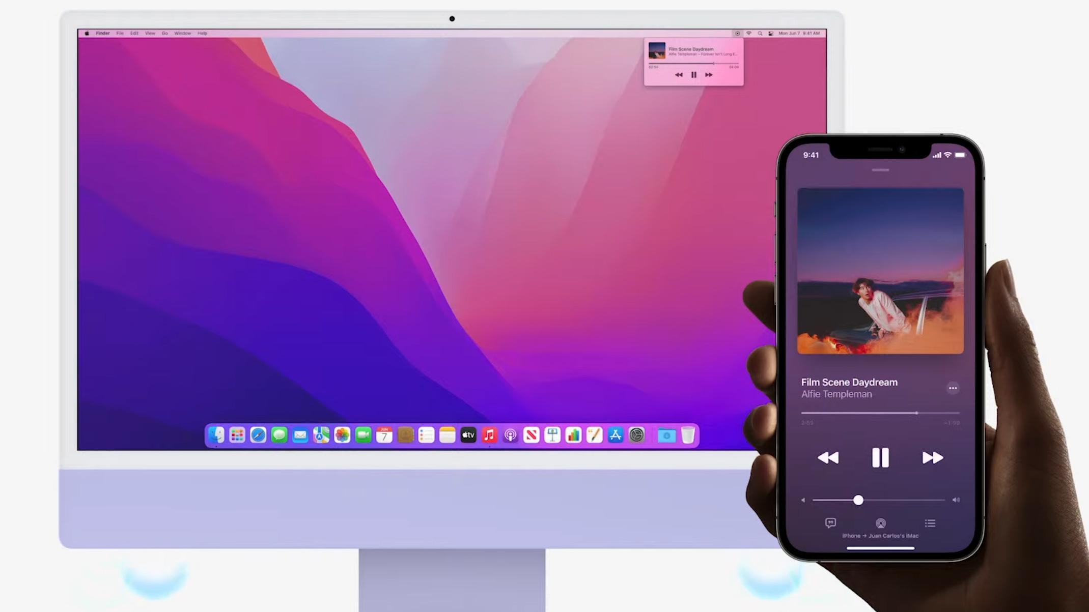 AirPlay kommer til MacOS. Send lyd til datamaskinen fra iPhone eller iPad.