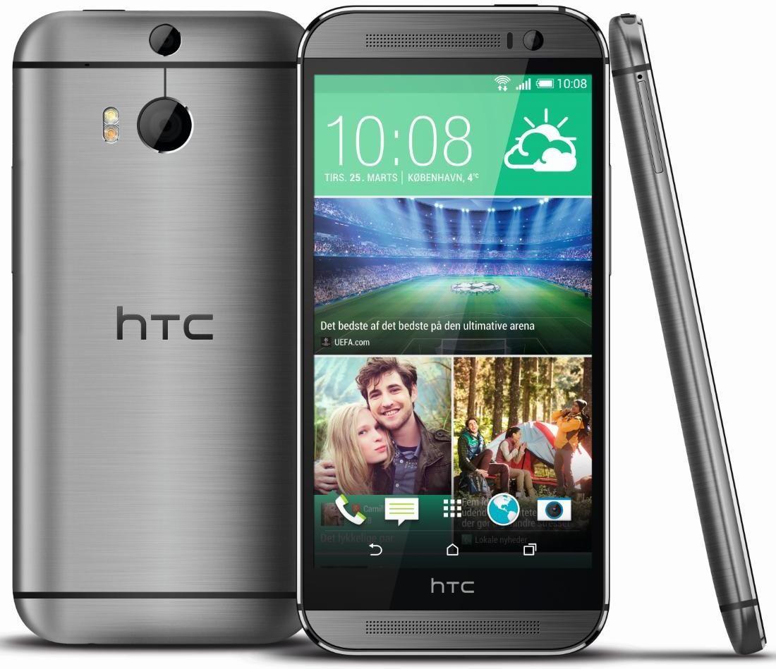 HTC One (M8).