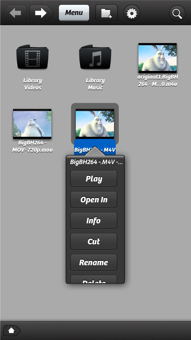 PlayerExtreme har mange muligheter og spiller de fleste formater, men knapper og menyer kunne med fordel vært bedre tilpasset fingerbruk..