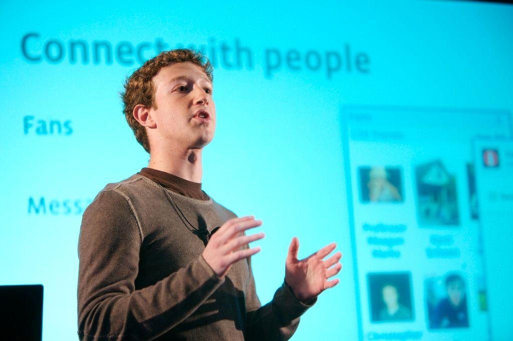 Grunnleggeren av Facebook: Mark Zuckerberg