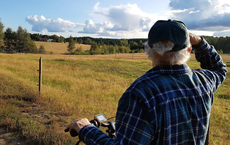 Gøy på landet? Da er elsykkelen å foretrekke.