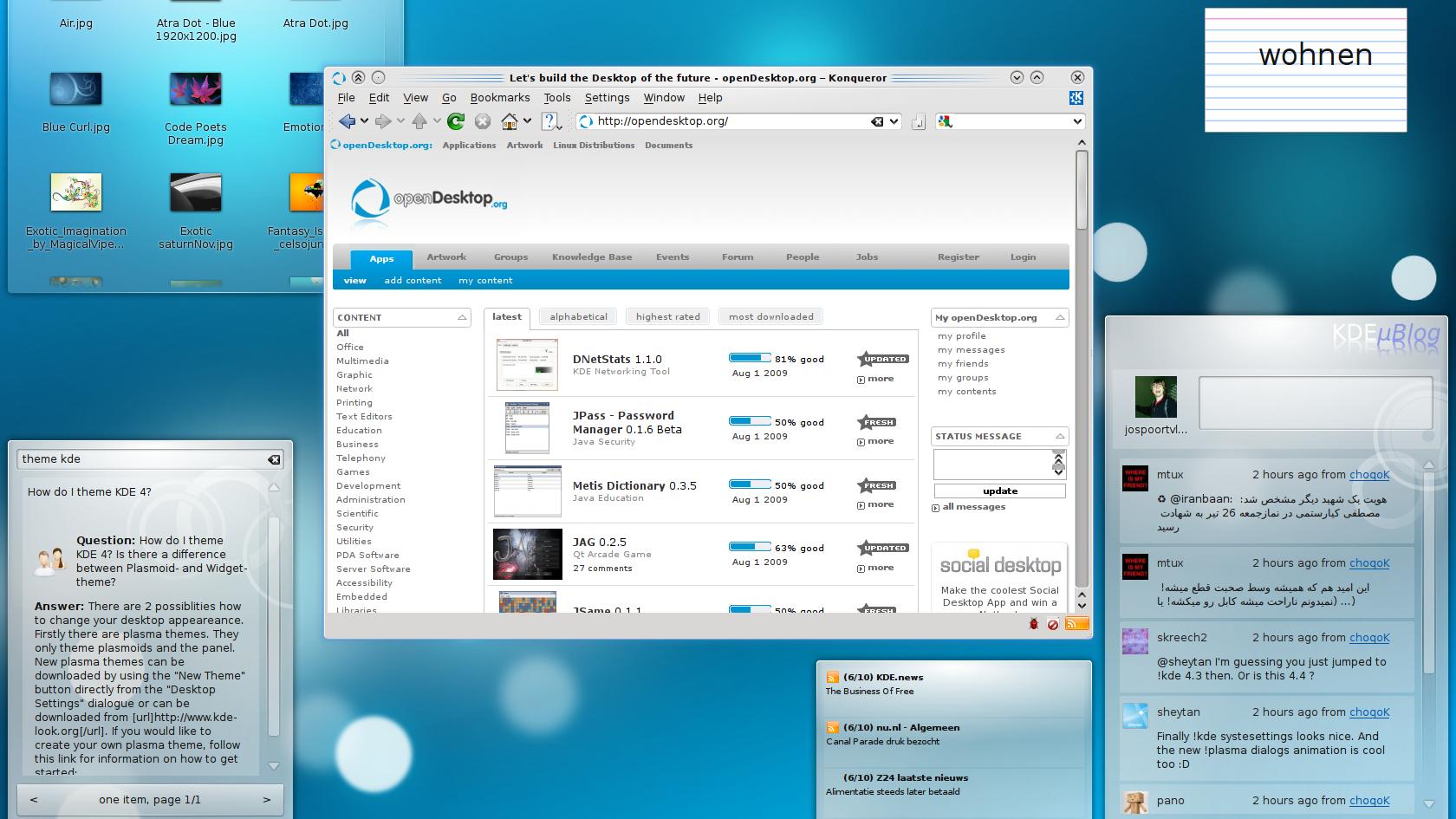 KDE 4.3 offisielt lansert