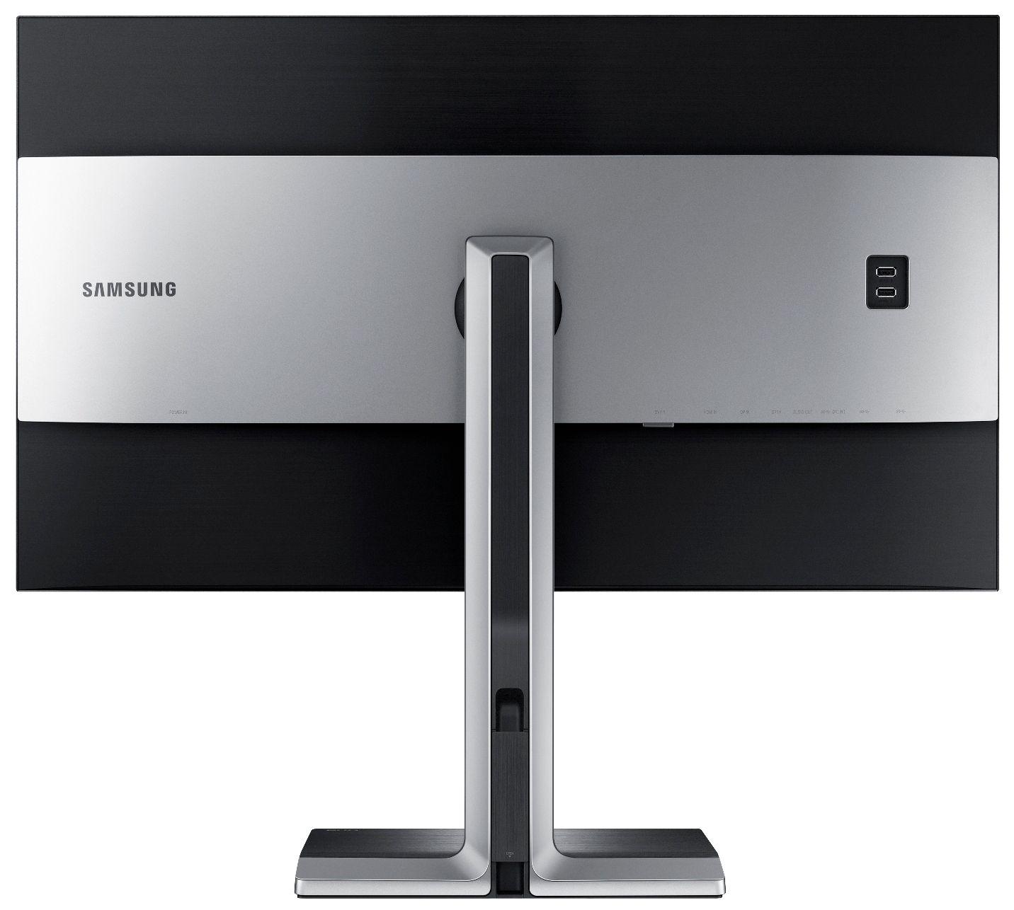 Det er tydelig at Samsung også har brukt litt tid på å designe den nye 4K-skjermen.Foto: Samsung