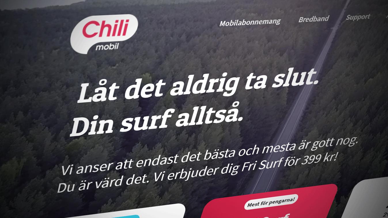 Chilimobil lanserer i Sverige