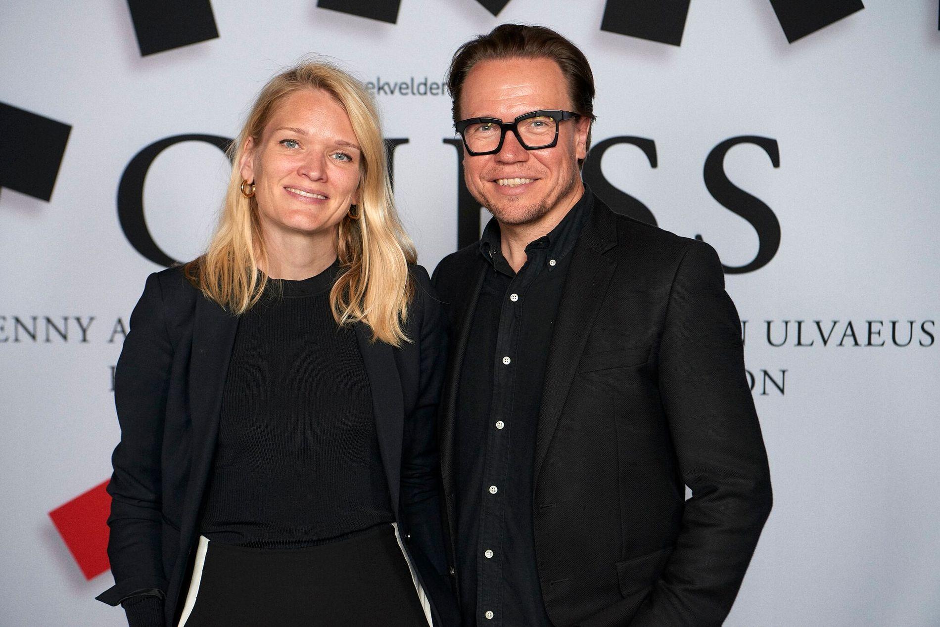 Scenekvelders produsent Karianne Jæger og kunstnerisk ansvarlig Atle Halstensen.