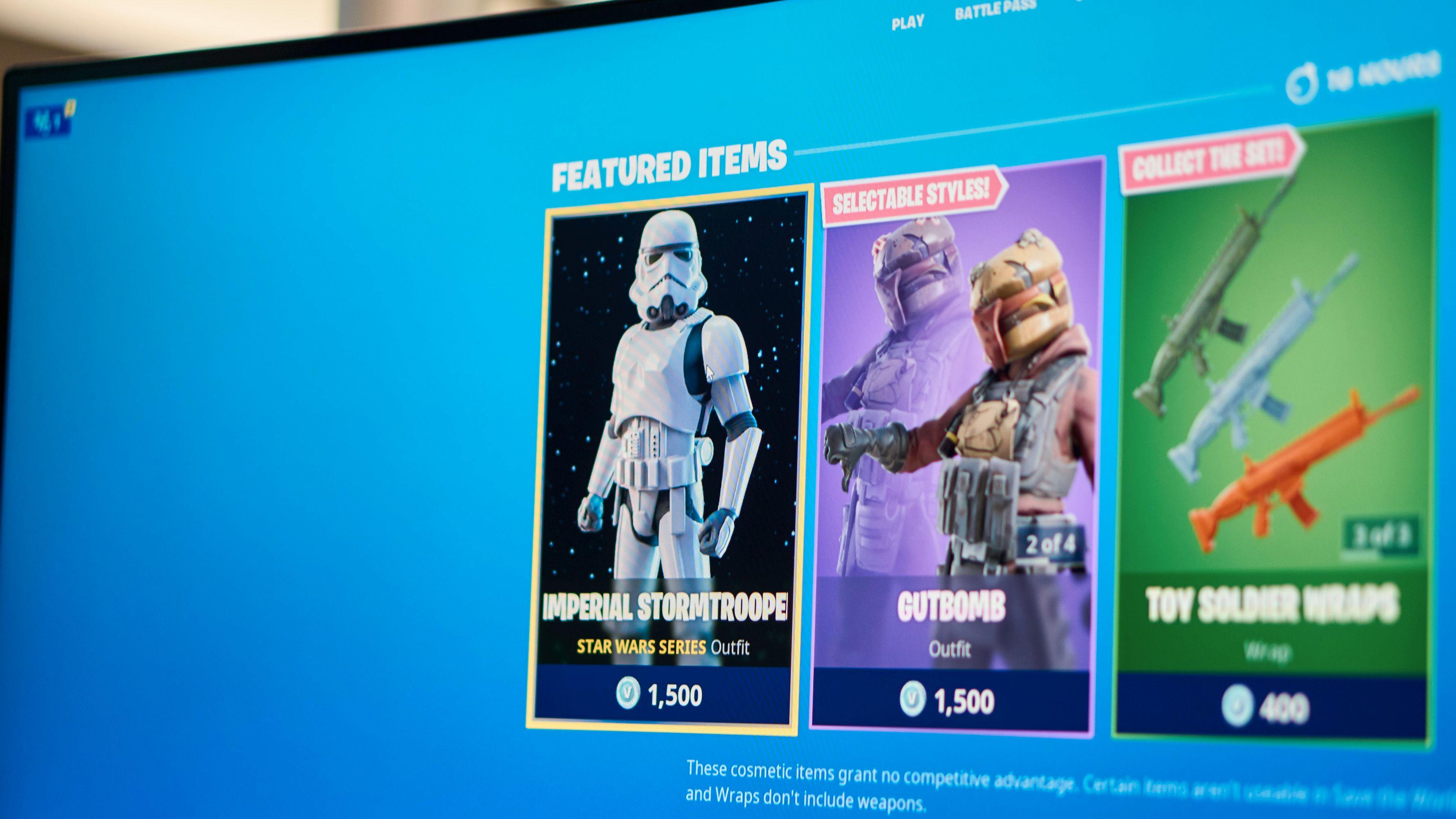 Star Wars og Fortnite samarbeider om ny «skin» i Fortnite