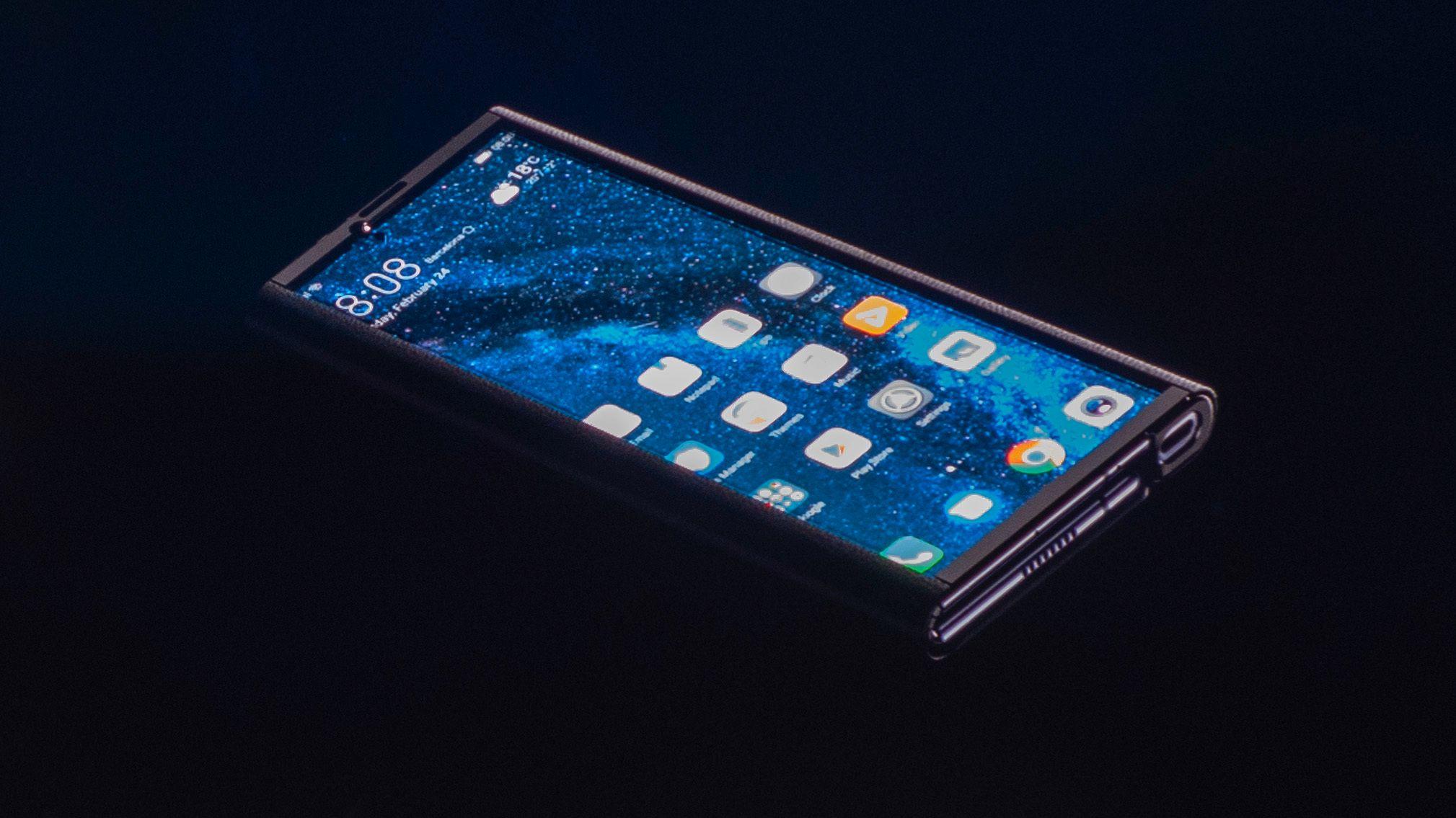 Slik er beskyttelsesdekslet ut som Huawei har laget spesielt for Mate X.