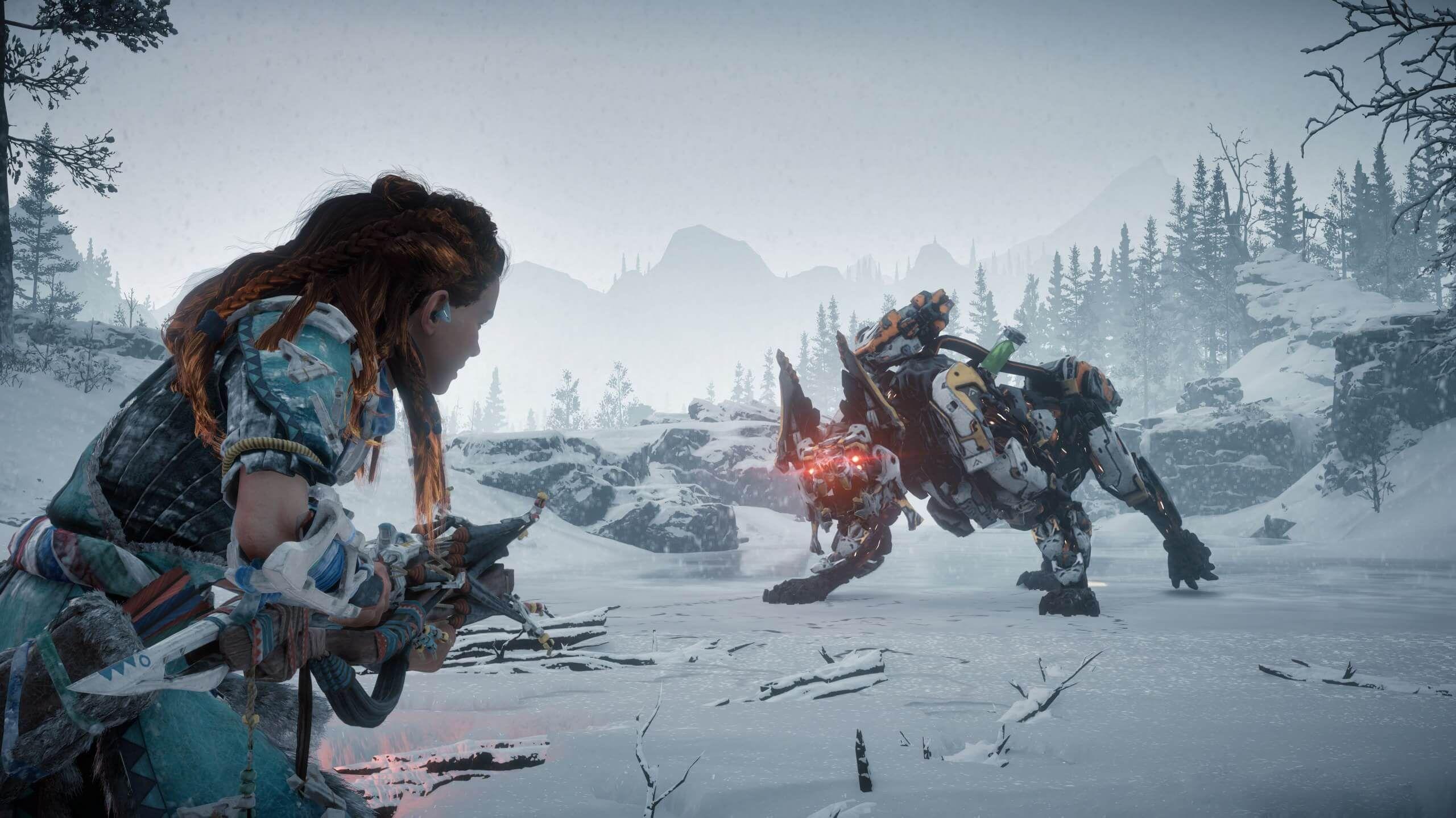 Horizon Zero Dawn tar spranget fra Playstation 4 til PC. 7. august er datoen.