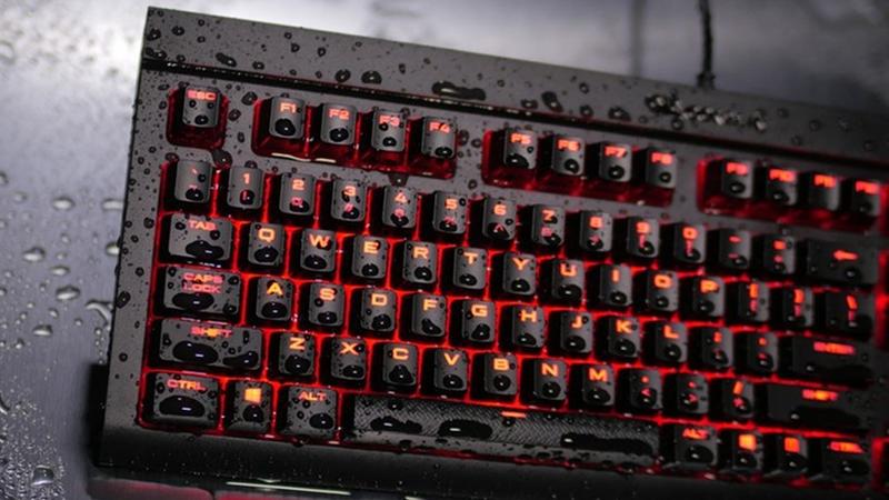 Corsair lanserer et tastatur som tåler både vann og støv