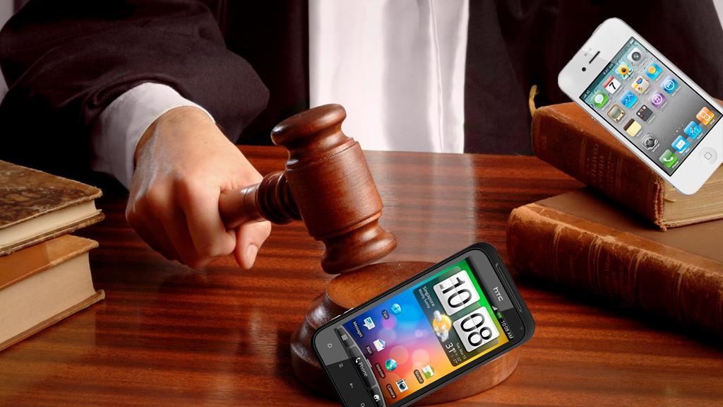 HTC taper første runde mot Apple