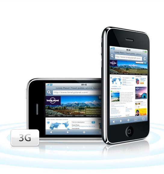 Telefonen får 3G-støtte.